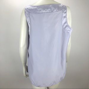 J. Jill Tops - J Jill Tank Cami Silk Blend Top Light Purple 2 XL